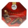 Assortis assortiment van melkchocolade en chocolade puur