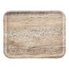 Dienblad madeira 36 x 46 cm, lichteiken