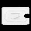Gastronorm deksel helder transparant 1/9 polycarbonaat