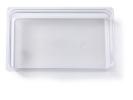 Gastronormbak helder transparant 1/1 x 100 mm polycarbonaat