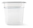 Gastronormbak helder transparant 1/6 x 150 mm polycarbonaat
