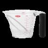 Maatkan kunststof transparant 0.5 liter