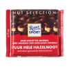 Chocolade puur hele hazelnoot