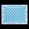 Placemats Beierse ruit 30 x 40 cm