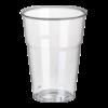 Drinkbreker pure voor koude dranken 11 cm  9.5 cm, glashelder met schuimkraag