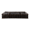 Bestekhouder GN 1/1 53 x 35.5 cm, zwart