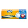 Antibacteriële afvalzakken met handvat 20L