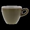 Cappuccinokop grijs, 0.18 liter