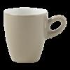 Koffiekop grijs, 0.14 liter