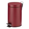 Pedaalemmer 3 liter, matt raspberry red