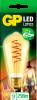 Led lamp E27 ST64 Fil spiralflame 5W