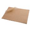 Vetvrij papier bruin, 25 x 20 cm