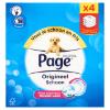 Vochtig toiletpapier hygienisch schoon