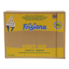 Vloeibare ijsmix met vanillesmaak
