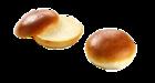 Broodjes Brioche bun pre sliced