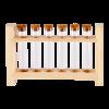 Houder tubes set 7 hout
