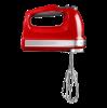 Handmixer 9 snelheden, rood