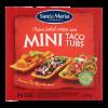 Mini taco tubs