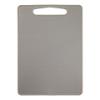 Snijplank 35 x 25 cm bioplastic, grijs