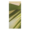 Sacchetto bamboo 19 x 8.5 cm - servet 33 x 33 cm, wit