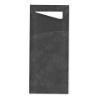 Sacchettos zwart Incl. servetten 2 laags