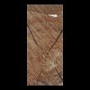Sacchettos wood met servetten 2-laags 19 x 8.5 cm - servet 33 x 33 cm, wit