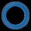 Bord  22 cm papier, bbq blue line