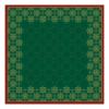 Napperon xmas deco 84 x 84 cm, groen