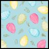 Servetten eieren, pastel