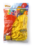 Ballonnen onbedrukt, geel 30 cm
