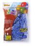 Ballonnen onbedrukt, donkerblauw 30 cm