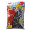 Ballonnen onbedrukt, zwart 30 cm