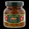 Zongedroogde tomaten Caprese wijze