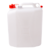 Jerrycan 20 liter incl. witte tap