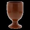 Drinkbeker op voet rood, 25 cl  8 cm
