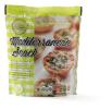 Mediterranean snack brood met knoflook