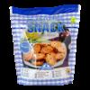 Mediterranean snack geroosterd brood met ui