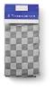 Theedoeken design Blok grijs 65 x 65 cm