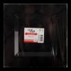 Bord vierkant 24 x 24 cm, zwart