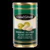 Groene olijven gevuld met knoflook