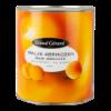 Halve abrikozen op zware siroop Zuid-Afrikaans