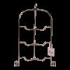 Etagère 3-laags opvouwbaar RVS