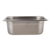 Gastronormbak 1/4-100 RVS