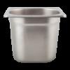 Gastronormbak 1/6-150 RVS