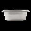 Gastronormbak 1/9-65 RVS