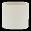 Schaaltje wit,  6 cm hoog 5.5 cm