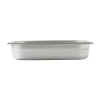 Gastronormbak 1/2-65 RVS