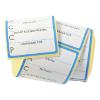 HACCP stickerrol blauw