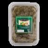 Groene olijven zonder pit met knoflook