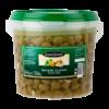 Groene olijven knoflook
